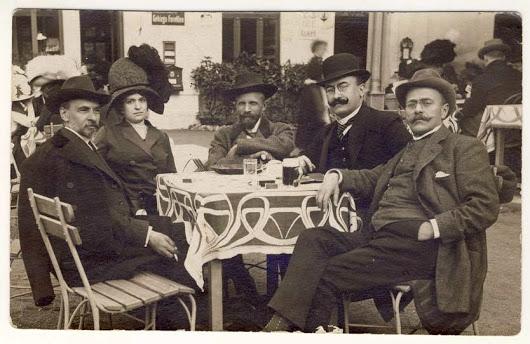 George Cosbuc, Elena Cosbuc, Alexandru Vaida Voievod, Alexandru Vlahuta, Ion Luca Caragiale