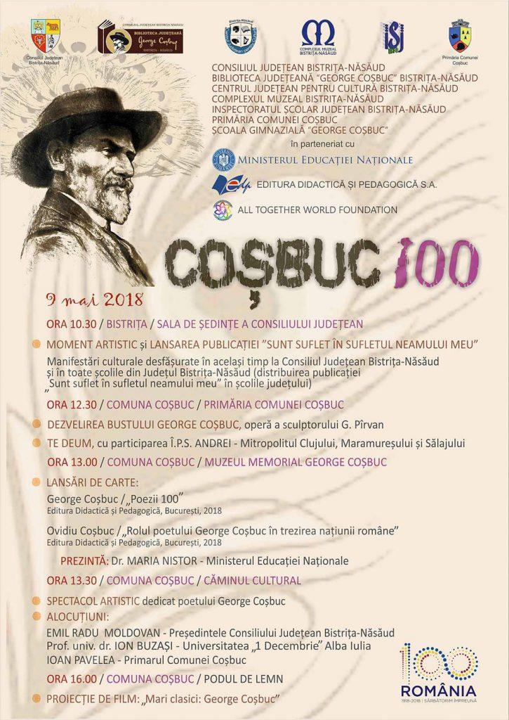 100 de ani de la moartea lui George Cosbuc