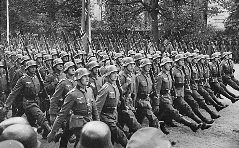 armata nazista, romania, 1940, raportul general al germaniei, germania, nazism, raportul general al armatei naziste
